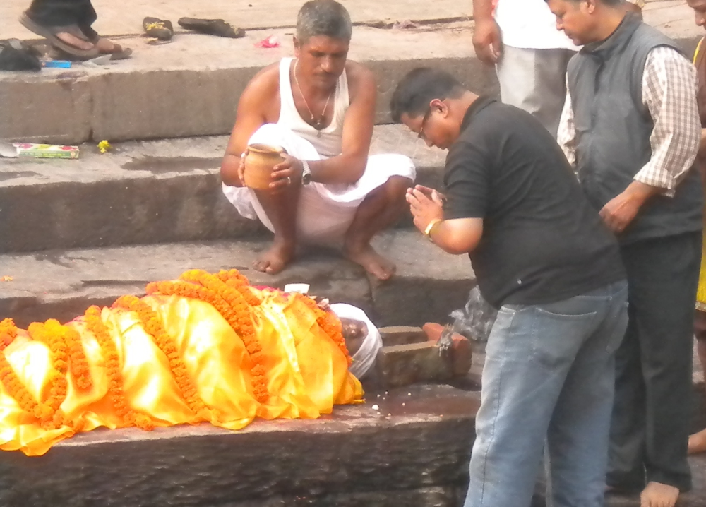 Hindu Cremation Service, In Person, With Photos (4/6)