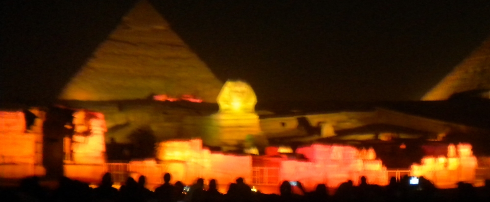 Egypt, Cairo, The Pyramids and My Buddy the Sphinx (3/6)