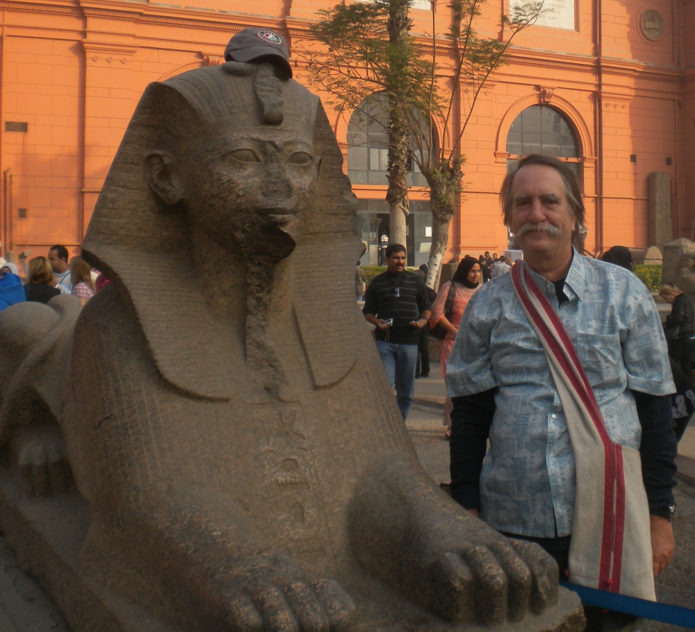 Egypt, Cairo, The Pyramids and My Buddy the Sphinx (5/6)