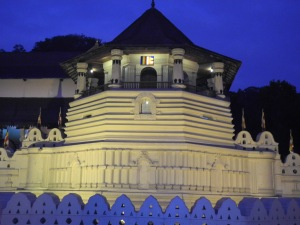 Temple of Tooth.  Kandy, Sri Lanka,