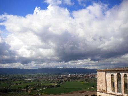 Umbria from Assisi