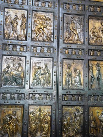 doors of St. Peter's