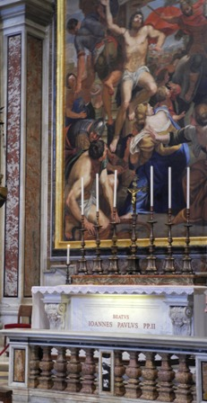 tomb of Jophn Paul II