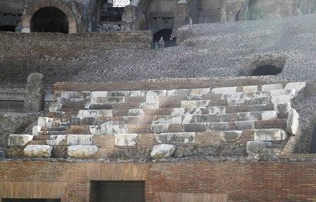 senators seats in the coliseum