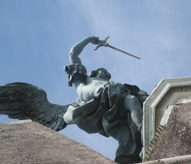 st michael statue