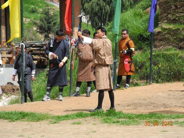 bhutan archer