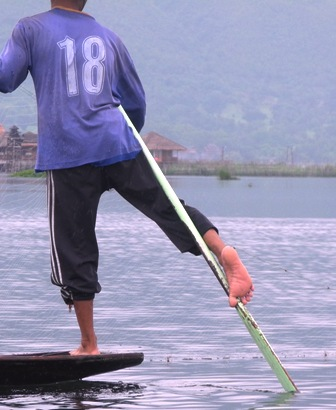 While in Burma, or Myanmar if you wish, we went to Inle Lake. Besides these fisherman who row with their feet, there are dozens of other unique things to see there, and the rest of Burma.