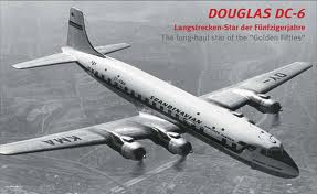 The DC6 came around and became the work horse of many airlines.