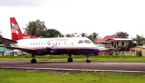 The other option was Air Panama which used a Saab 340. In the four years I lived there, due to pilot error, two flights crashed. That is what you get when yu hire teenagers to fly your planes.